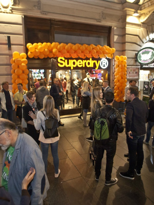 Otvorena prva Superdry prodavnica u Beogradu