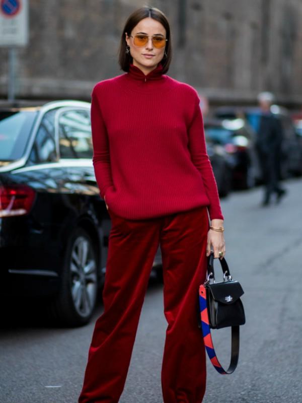 30 načina da nosite džemper kao street style zvezda