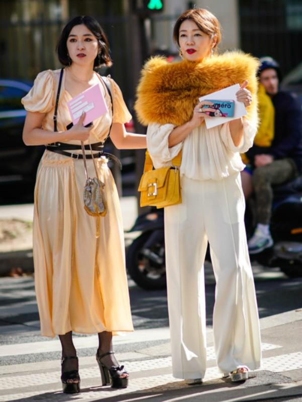 Street style: kako nositi šal od krzna