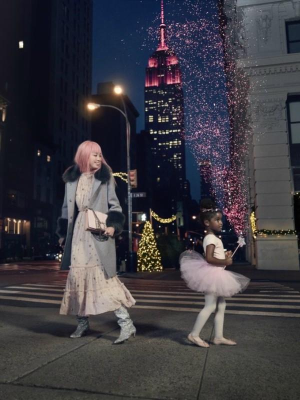 Karte za balet: reklamna kampanja Kate Spade Holiday 2017