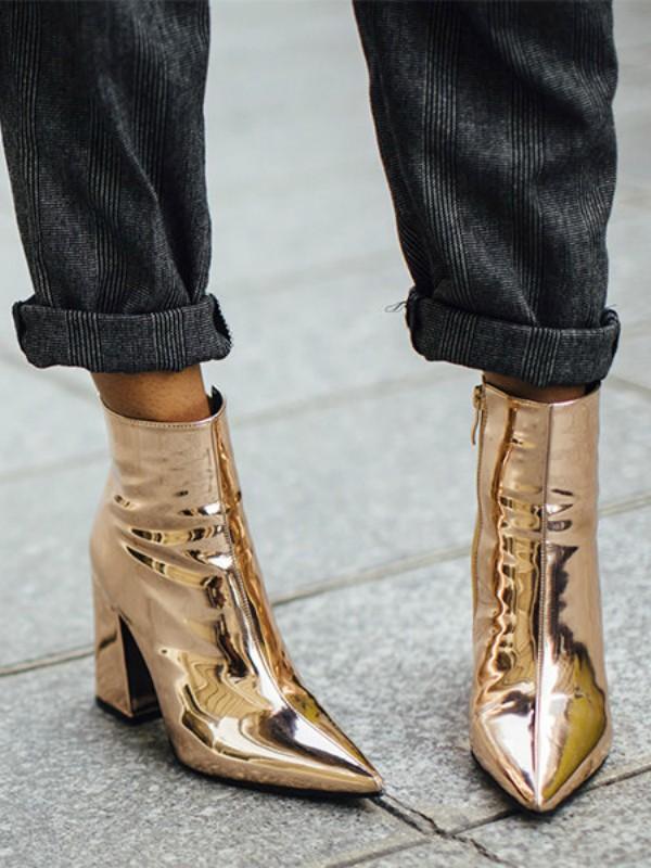 Nosite zlatne stvari kao zvezda uličnog stila