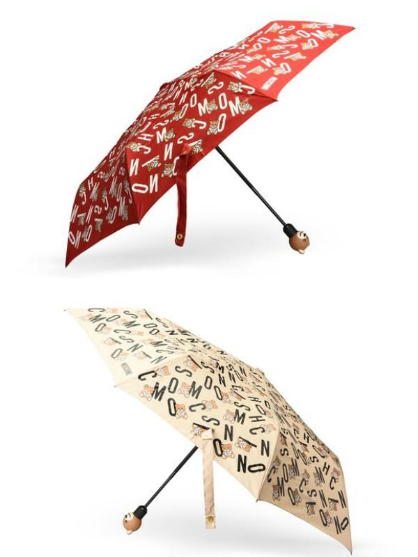 Moschino kišobrani za osmeh tokom kišnih dana
