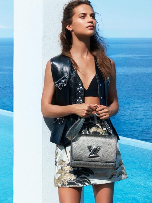 Alisija Vikander u reklamnoj kampanji Louis Vuitton Cruise 2018