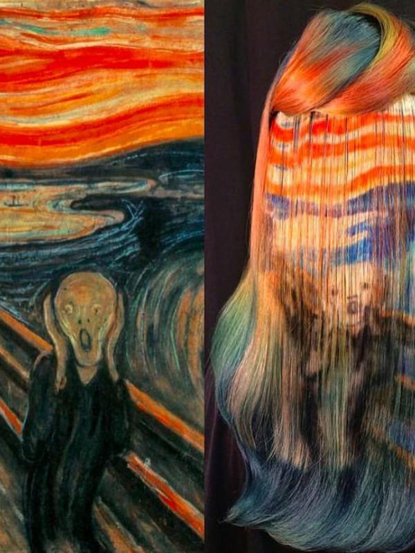 Hair art - novi trend u bojenju kose