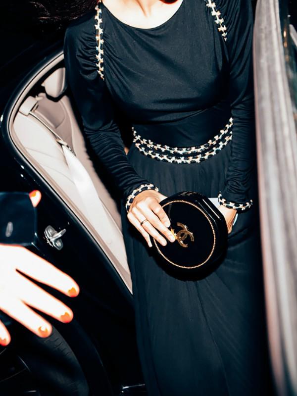 Street style na reviji Chanel u Hamburgu