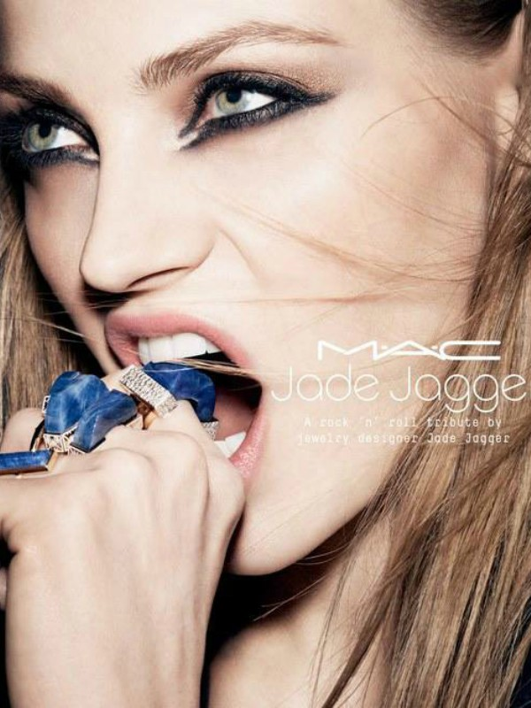 MAC x Jade Jagger: makeup kolekcija u Rock 'n' Roll stilu
