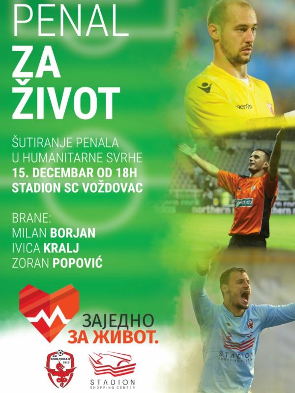 """Šutiraj """"Penal za život"""" Milanu Borjanu, Ivici Kralju i Zoranu Popoviću!"""