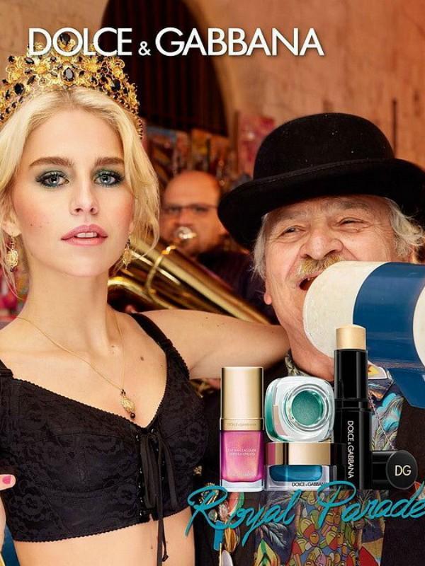 """Praznična kolekcija šminke Dolce & Gabbana """"Royal Parade"""""""