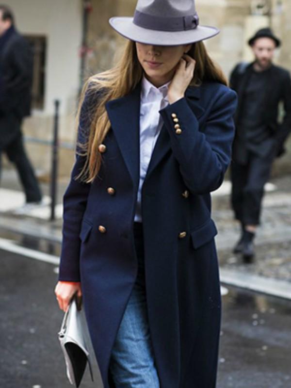 18 modernih teget kaputa za zimu pred nama