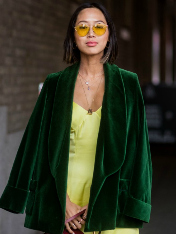 40 načina da nosite somot i pliš kao street style zvezda