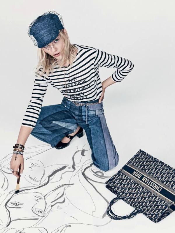 Kampanja Dior proleće/leto 2018 sa Sašom Pivovarovom