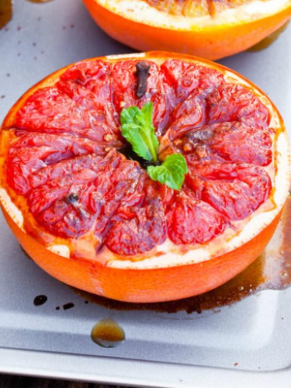 Pečeni grejpfrut: neverovatno jednostavan i ukusan desert