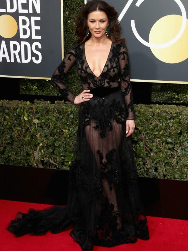 """Žene u crnom: najspektakularnije haljine na ceremoniji """"Zlatni globus - 2018"""""""