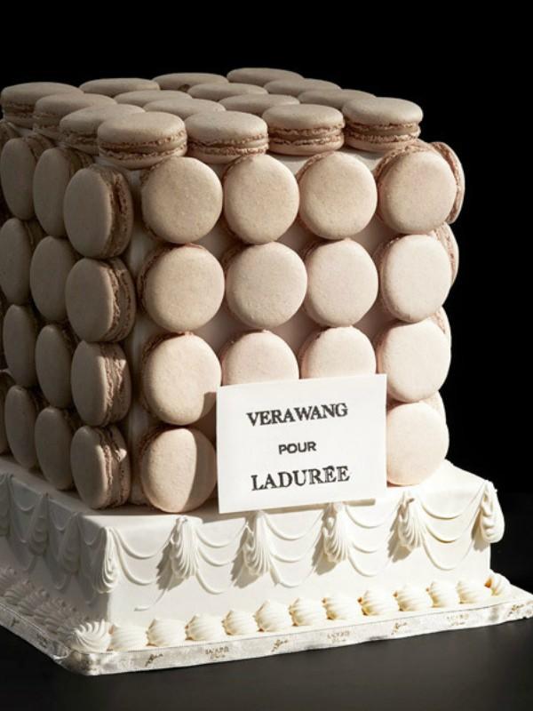 Vera Vang napravila kolekciju svadbenih deserata za Laduree
