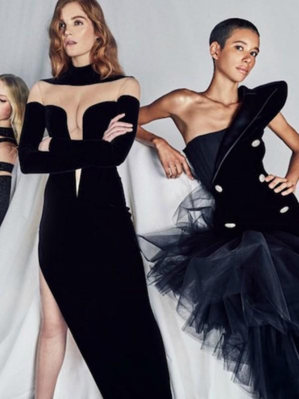 Balmain predstavio liniju večernjih haljina