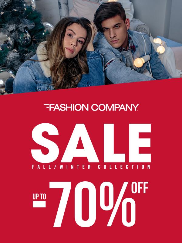 Sezonsko sniženje do 70% u prodavnicama Fashion Company