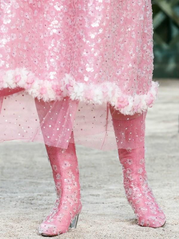 Cipele za princeze sa Nedelje visoke mode u Parizu