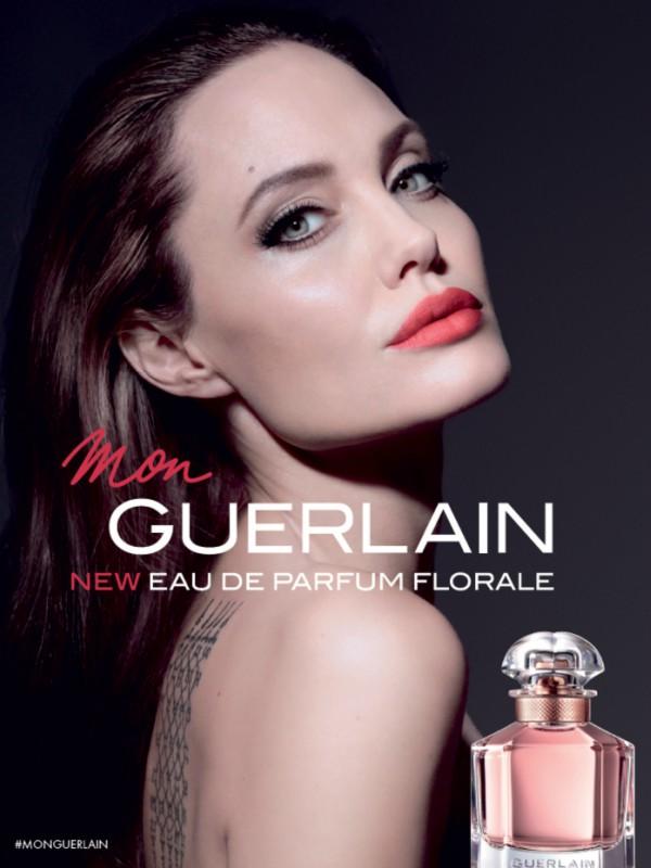 Anđelina Džoli u reklamnoj kampanji za novi Mon Guerlain Florale
