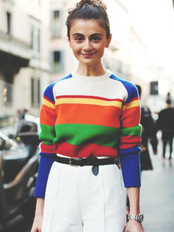 """15 """"color block"""" džempera za veseli zimski stajling"""