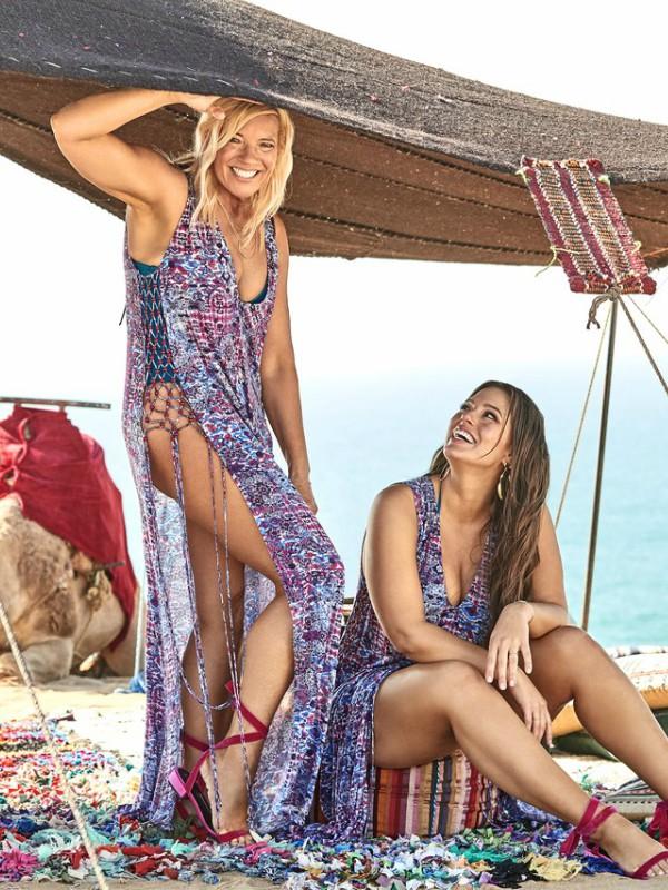 Ešli Grejam u novoj reklamnoj kampanji Swimsuits For All