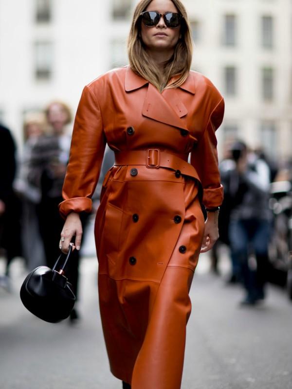 Kako nositi kožni mantil kao zvezda uličnog stila