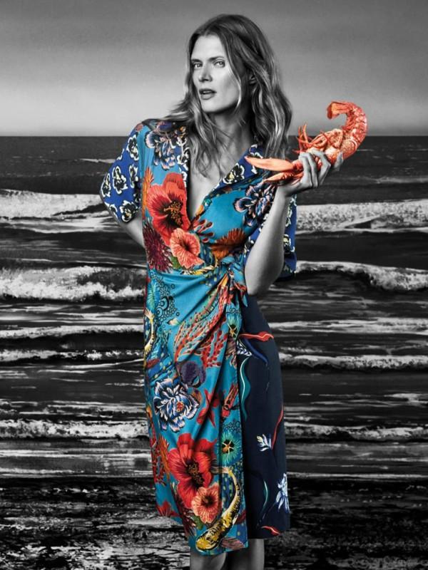 Malgosia Bela u reklamnoj kampanji Paul Smith proleće/leto 2018