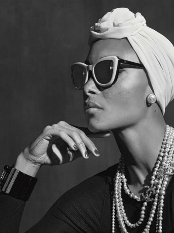 Advoa Aboa u reklamnoj kampanji Chanel Eyewear
