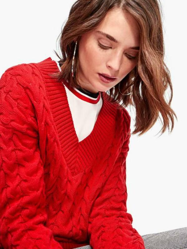 Za snežne dane - topli džemperi iz high street ponude