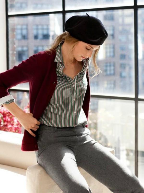 10 modernih beretki u stilu šik Parižanki