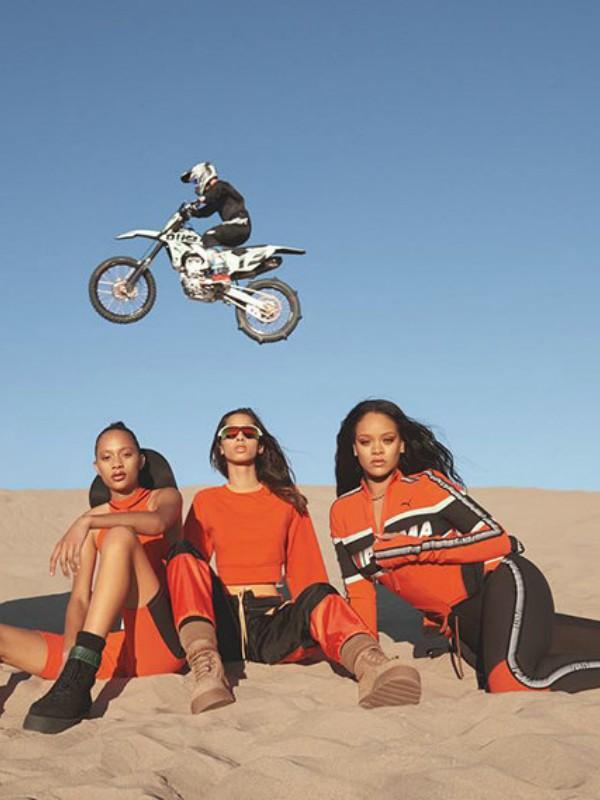 Nova kolekcija Fenty Puma by Rihanna inspirisana moto-krosom