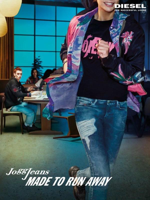 Diesel jogg jeans: stvorene za bekstvo