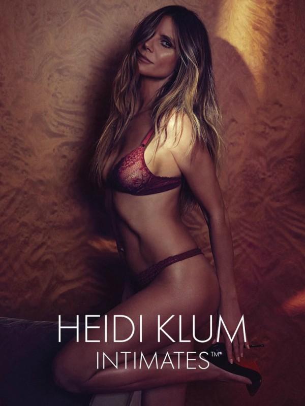 Hajdi Klum u novoj kampanji Intimates