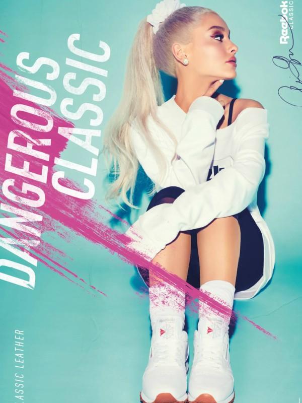 Ariana Grande zvezda kampanje Reebok Always Classic