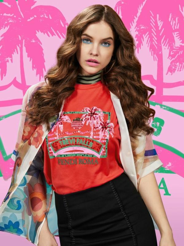 Tropski zvuk: kapsula kolekcija majica Fendi