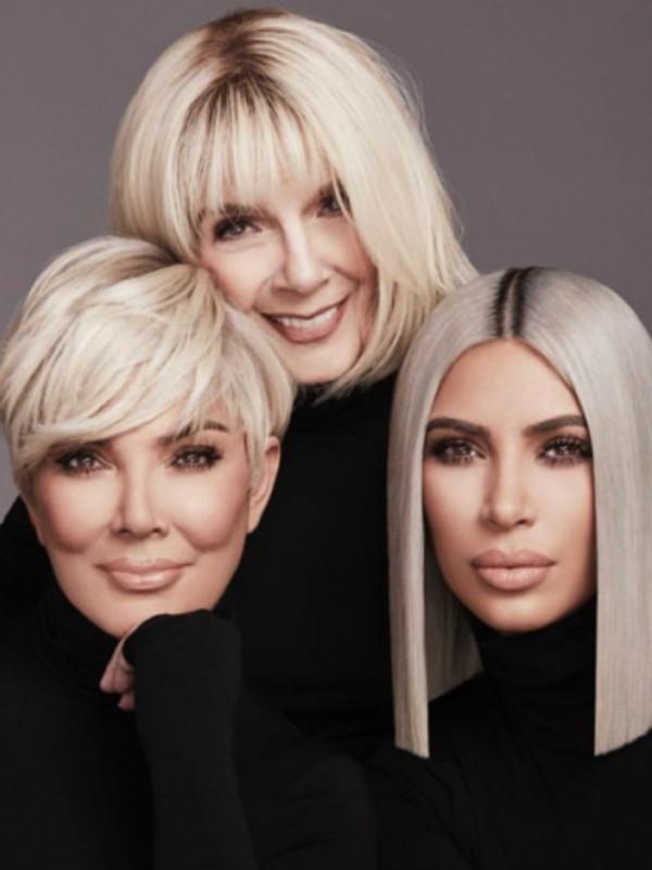 Kim Kardašijan je angažovala mamu i baku u novoj KKW beauty kampanji