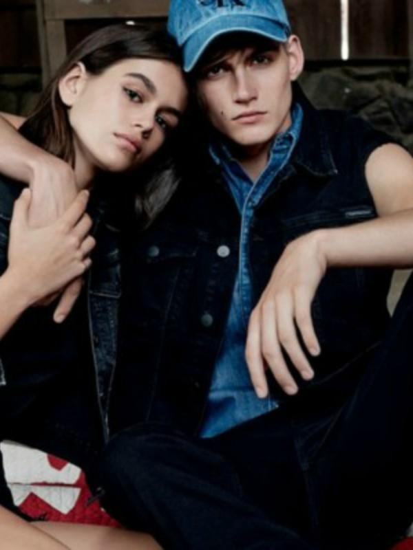 Kaja Gerber i njen stariji brat u novoj reklami Calvin Klein
