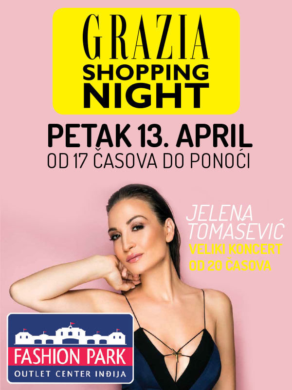 Prvi prolećni Grazia Shopping Night