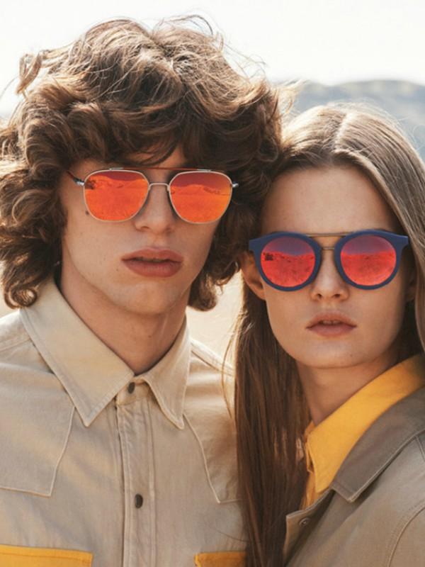 Futurizam: naočare za sunce Calvin Klein 205W39NYC