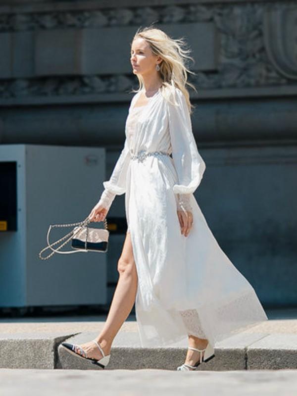 Kako nositi maksi haljine kao street style zvezde