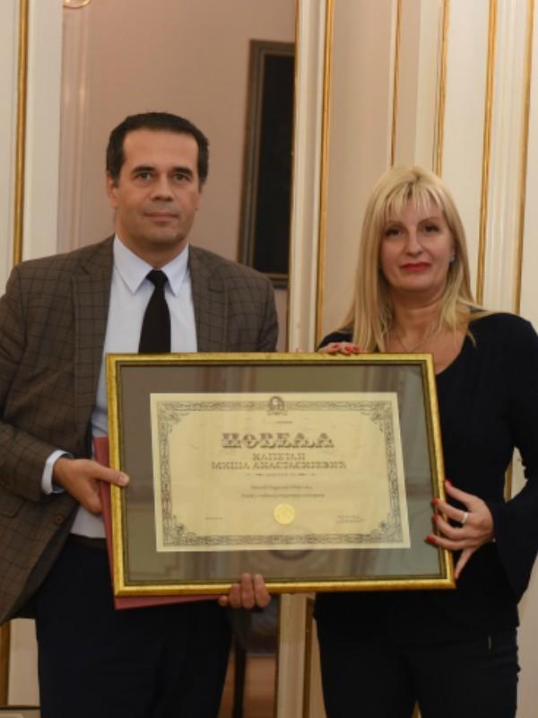 """Generali Osiguranje Srbija dobitnik ugledne nagrade """"Kapetan Miša Anastasijević"""""""