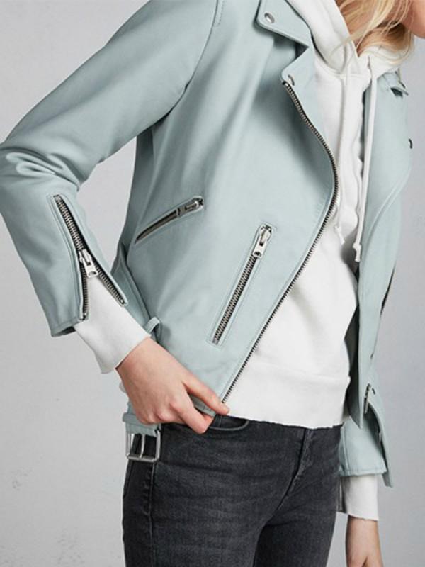 15 prolećnih kožnih jakni u pastelnim tonovima