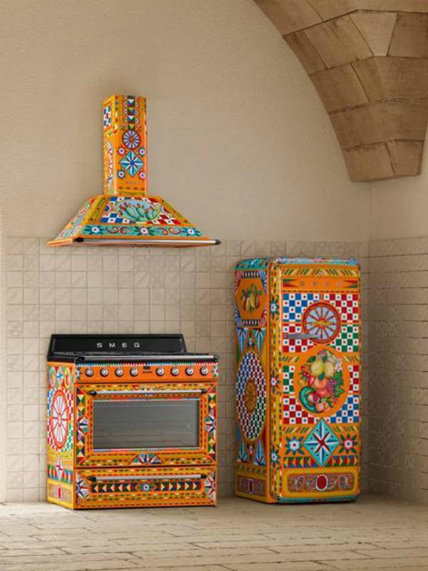 Dolce & Gabbana x Smeg - kućni aparati u italijanskom stilu