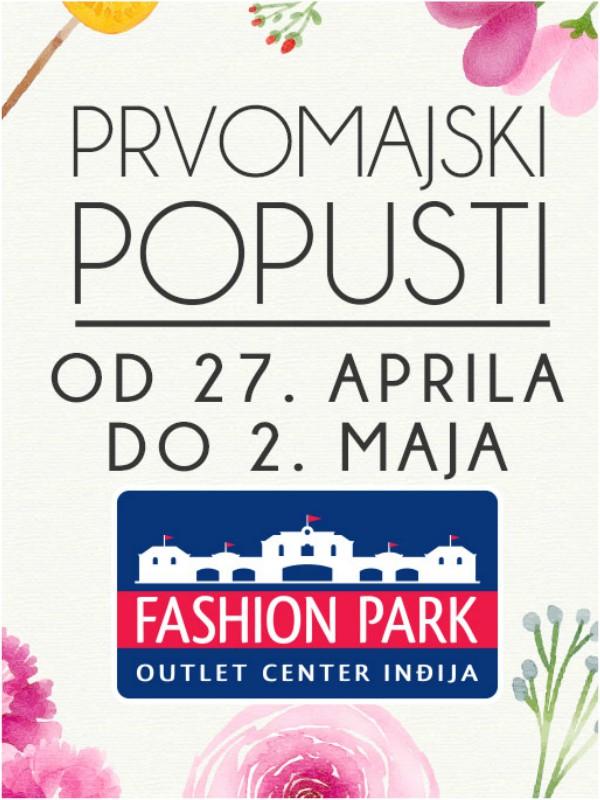 Veliko sniženje prolećnih kolekcija u Fashion Parku
