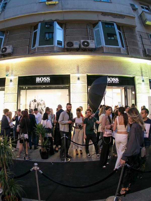 Ekskluzivno u Beogradu: novi koncept Boss radnje