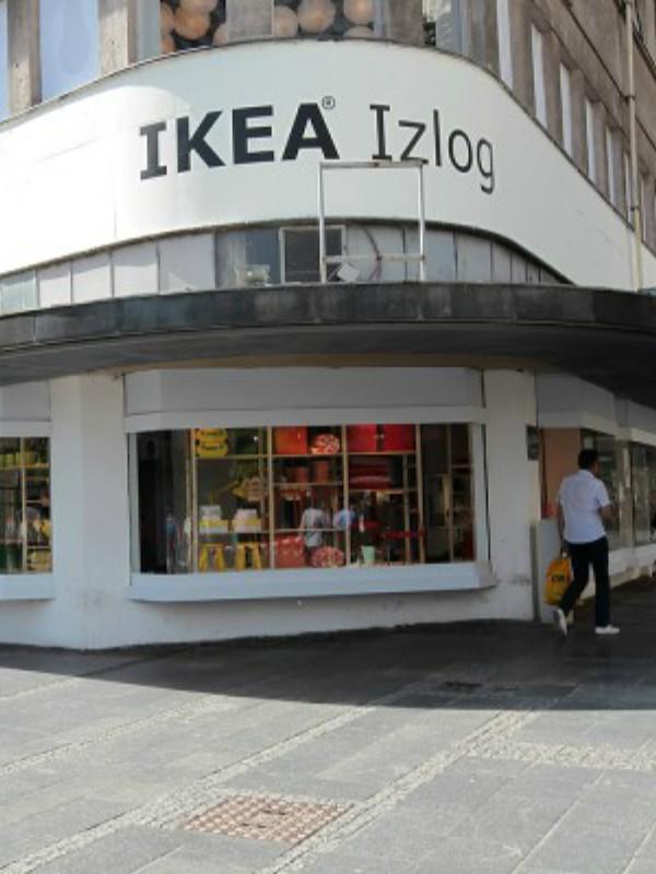 Otvoren Ikea izlog u centru Beograda