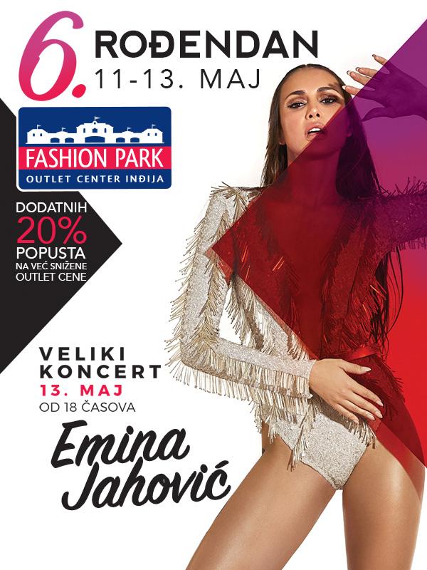 Šesta rođendanska žurka uz popuste i veliki koncert Emine Jahović