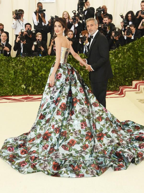 Savršen par: Džordž i Amal Kluni na Met Gala 2018