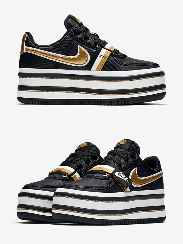 "Nike Vandal 2K ""Black/Gold"""