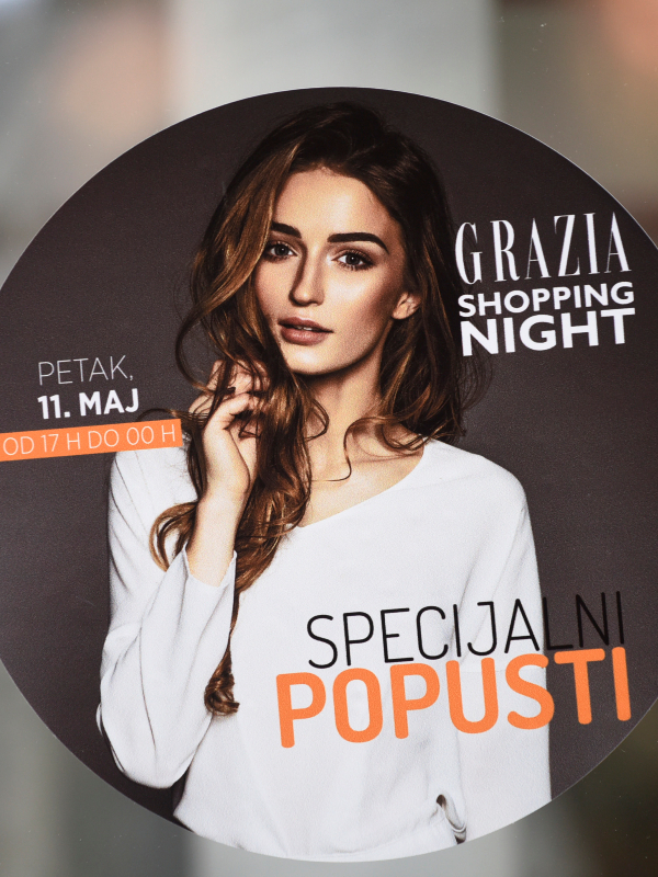 Izveštaj sa Grazia Shopping Nighta – Rajićeva Shopping Centar i Knez Mihailova ulica, 11. maj