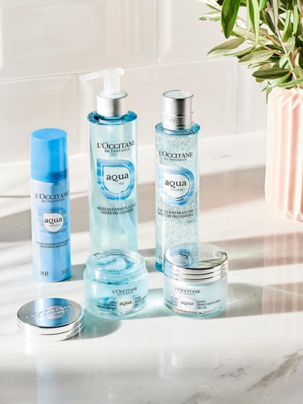 Aqua Réotier: nova linija za negu kože L'Occitane